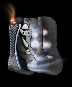 Veredus Carbon Gel Vento Cannon Bone Boots