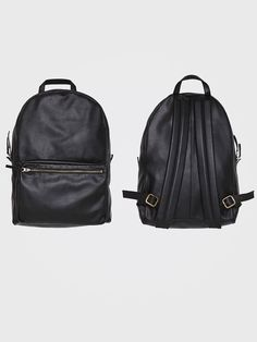 Leather Backpack. #AmericanApparel