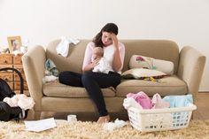 Lo más duro de los primeros días como mamá   Blog de BabyCenter