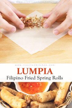 Shrimp Recipes, Pork Recipes, Asian Recipes, Appetizer Recipes, Appetizers, Cooking Recipes, Pancit Recipe, Easy Filipino Recipes, Japanese Recipes