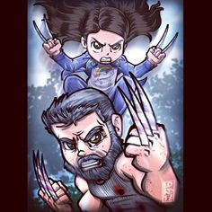 """She's just like you."" @thehughjackman @dafnekeen @wponx Is it March yet??? ‍♂️⏳⏲⏰‍♂️"