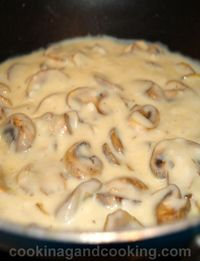 Mushroom Sauce is a great sauce for steak, roast beef, meatloaf, pork chops or chicken. It would even work as a sauce over other vegetables.