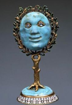 Jeweled Mirror THE MEDICI JEWELS ~ Italy, from The Medici collection shown in Moscow Kremlin, 2011