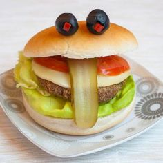 Cheeky hamburger (with google translator)