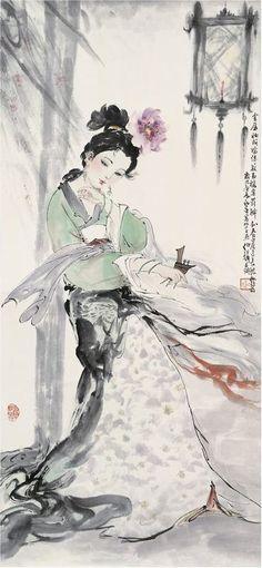 Yang Yuhuan 楊玉環 often referred to as Yang Guifei 楊貴妃
