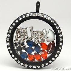Auburn Tigers college football locket necklace – SportLockets.com