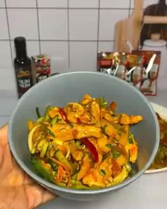 Salad Recipes, Keto Recipes, Cooking Recipes, Food Vids, Appetizer Salads, Diy Food, Food Dishes, Italian Recipes, Thai Red Curry
