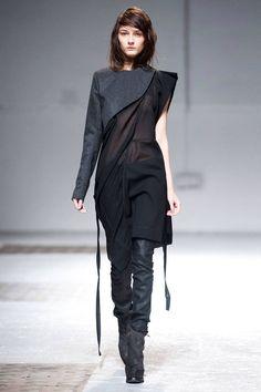 Love the fabrics mix.
