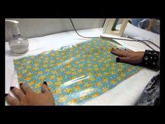 Como plastificar/impermeabilizar tecidos |DIY - Faça você mesmo - YouTube