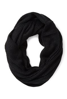 Waffle-Knit Infinity Scarf | FOREVER21 - 1000083983