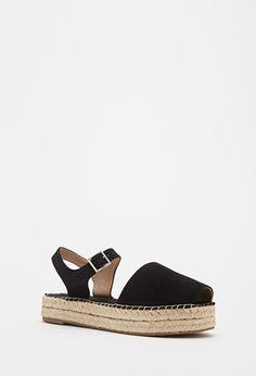 Espadrille Flatform Sandals | Forever 21 - 2000096824