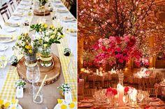 Los colores de la boda son parte fundamental de la decoración de la boda. Para elegirlos hay que tomar en cuenta el tema de la boda http://elblogdemariajose.com/seis-consejos-para-elegir-los-colores-de-la-boda/ #boda #elblogdemariajose #colores boda
