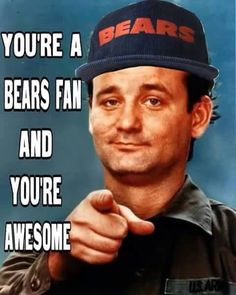 Good Bears fan!
