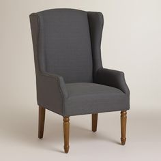 Magnet Gray Victoria Chair   World Market