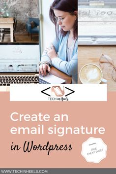 Create your email signature in Wordpress. Follow these easy steps to personalize your emails. What are you waiting for? Let people know who is sending those lovely emails!