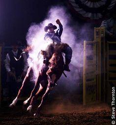 Las Vegas, Nevada, USA - This was shot at National Finals Rodeo.