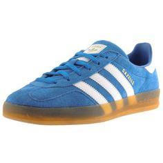 b4b0b62413167c Adidas Originals Gazelle Indoor Trainers Blue  mainlinemenswear