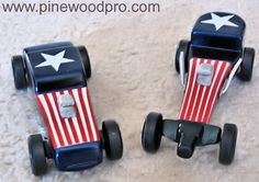 Coupe and Dragster Car Designs