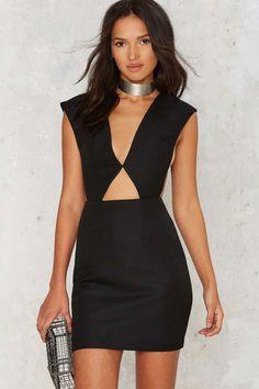V Good Cutout Dress   Shop Clothes at Nasty Gal!