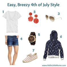 Easy, Breezy 4th of July Style