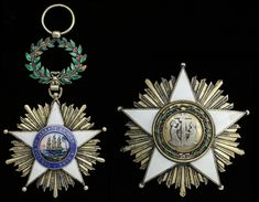 LIBERIA (Republic) - Order of African Redemption, Grand Commander's, 98mm including wreath suspension x 62mm, silver-gilt, Star, 82mm,