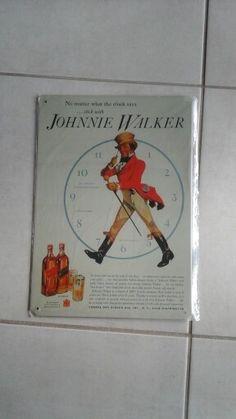 Tin sign johnnie walker