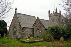 Mawnan Church, Falmouth, Cornwall