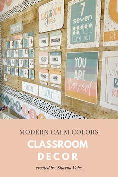 Calm Classroom, Modern Classroom, Classroom Jobs, Classroom Environment, Classroom Design, Future Classroom, Classroom Organization, Classroom Management, Classroom Decor Themes