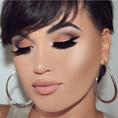 Love this whole look  @helena_makeup used the #StardustPalette on her eyes ⭐️⭐️ #vegasnay4toofaced