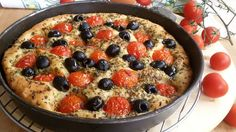 FOCACCIA+PUGLIESE+ORIGINALE+ricetta+focaccia+barese+tipica