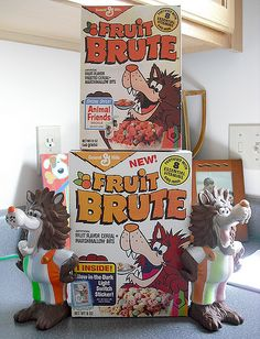 Fruit Brute Cereal Box Temple .... The bottom Fruit Brute repro cereal box is from Master Repro Cereal Box Maker Robb Z. and the top one I made from a Jason L. scan ... Thanks guys! I'm currently still looking for a Fruit Brute cereal box, so any help would be greatly appreciated!!!