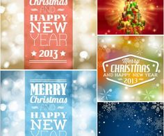Christmas background with sparkles vector