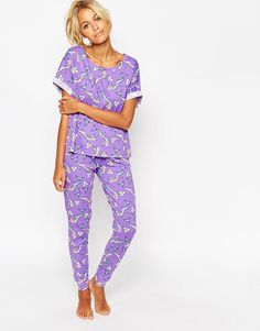 fb8009f2fc ASOS Raised By Mermaids Tee Cotton Pjs