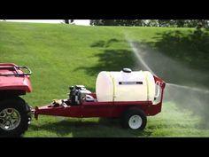 NorthStar Tow-Behind Sprayer - 55 Gallon, 7 GPM, 160cc Honda GC160 Engine - YouTube