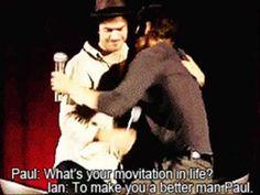 Paul and Ian Motivation