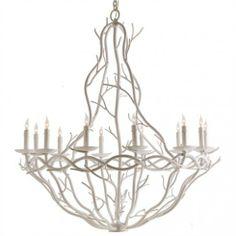 Iron Twig Chandelier - Chandeliers - Lighting