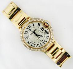 #Cartier #Ballon_Bleu WE9005Z3 #swisswatchdealers Cartier Ballon Bleu, Bracelet Watch, Watches, Bracelets, Accessories, Clocks, Clock, Bracelet, Bangles