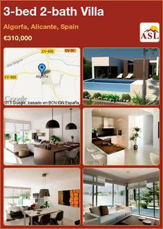 3-bed 2-bath Villa in Algorfa, Alicante, Spain ►€310,000 #PropertyForSaleInSpain