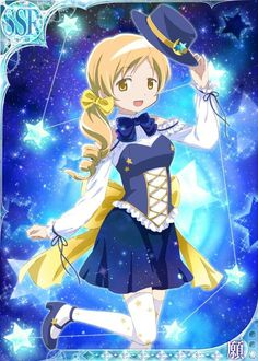 Mami Tomoe and the stars♡♡♡♡♡♡♡♡♡♡
