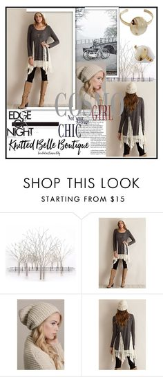 """Knitted Belle Boutique 3"" by damira-dlxv ❤ liked on Polyvore featuring Home Decorators Collection, Entro, Leto, Blandice and knittedbelleboutique"