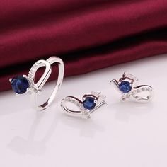 Fashion Jewelry Set, finger ring & earring.