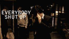 """""""Everybody shut up!""""-Sherlock   Community Post: The Best Quotes From BBC's """"Sherlock"""""""