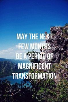 May the next few months be a period of magnificent transformation. Yeah baby, this is totally #WildlyAlive! #selflove #fitness #health #nutrition #weight #loss LEARN MORE → www.WildlyAliveWeightLoss.com