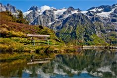 Swiss Bank by Jan Geerk on Swiss Bank, Engelberg, Half Dome, Switzerland, Mountains, Nature, Summer, Travel, Naturaleza