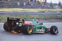 1985 Zandvoort Benetton Alfa Romeo 185T Eddie Cheever