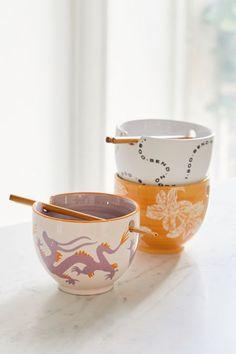 Mix + Match Noodle Bowl + Chopstick Set - 箸 & 寿司 2020 Ceramic Bowls, Ceramic Pottery, Ceramic Art, Slab Pottery, Thrown Pottery, Cerámica Ideas, Noodle Bowls, Ramen Bowl, Dinnerware Sets