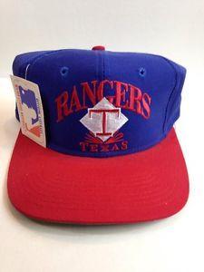 Vintage Texas Rangers Signature Snapback Hat   eBay