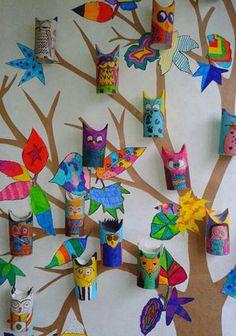 Outro estilo de árvore de parede
