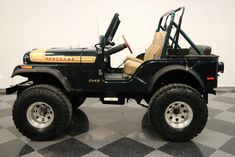 1976 Jeep CJ-5 Cj Jeep, Jeep Cj7, Jeep Truck, Jeep Wrangler, Mahindra Thar Jeep, Truck Rims And Tires, Jeep Stickers, Badass Jeep, Vintage Jeep