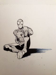 Spiderman by Ryan Ottley Marvel Comic Books, Marvel Art, Marvel Dc Comics, Comic Books Art, Comic Art, Spiderman Drawing, Spiderman Art, Amazing Spiderman, Spiderman Images